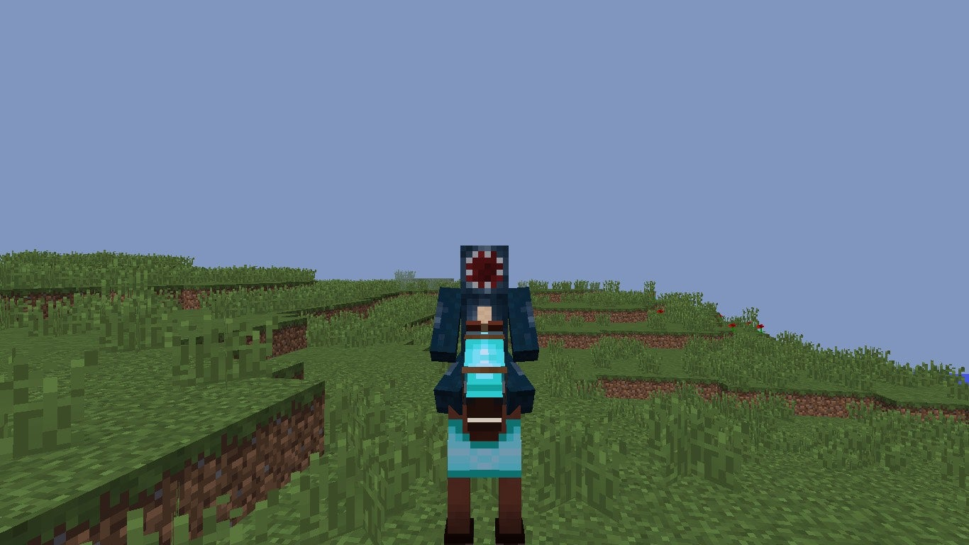 How To Tame And Ride A Horse In Minecraft 4 Steps Instructables