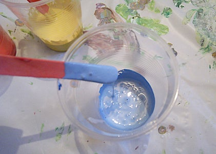 Step 2 : Mixing Paint