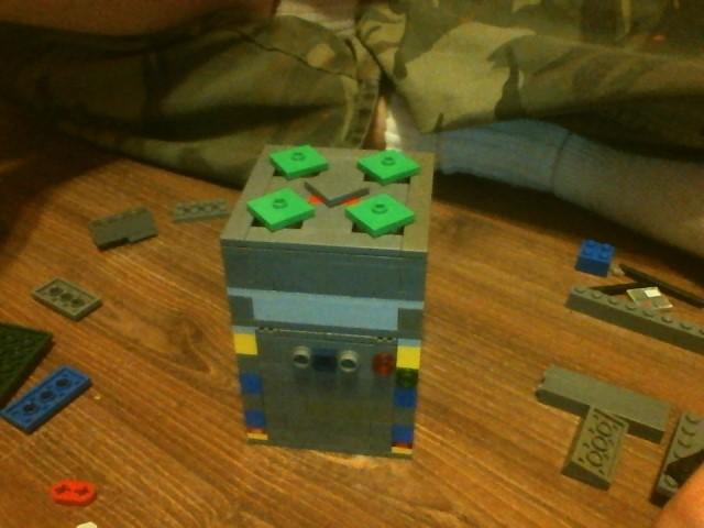 How to make Lego Puzzle Box No. 5; Diamonds!