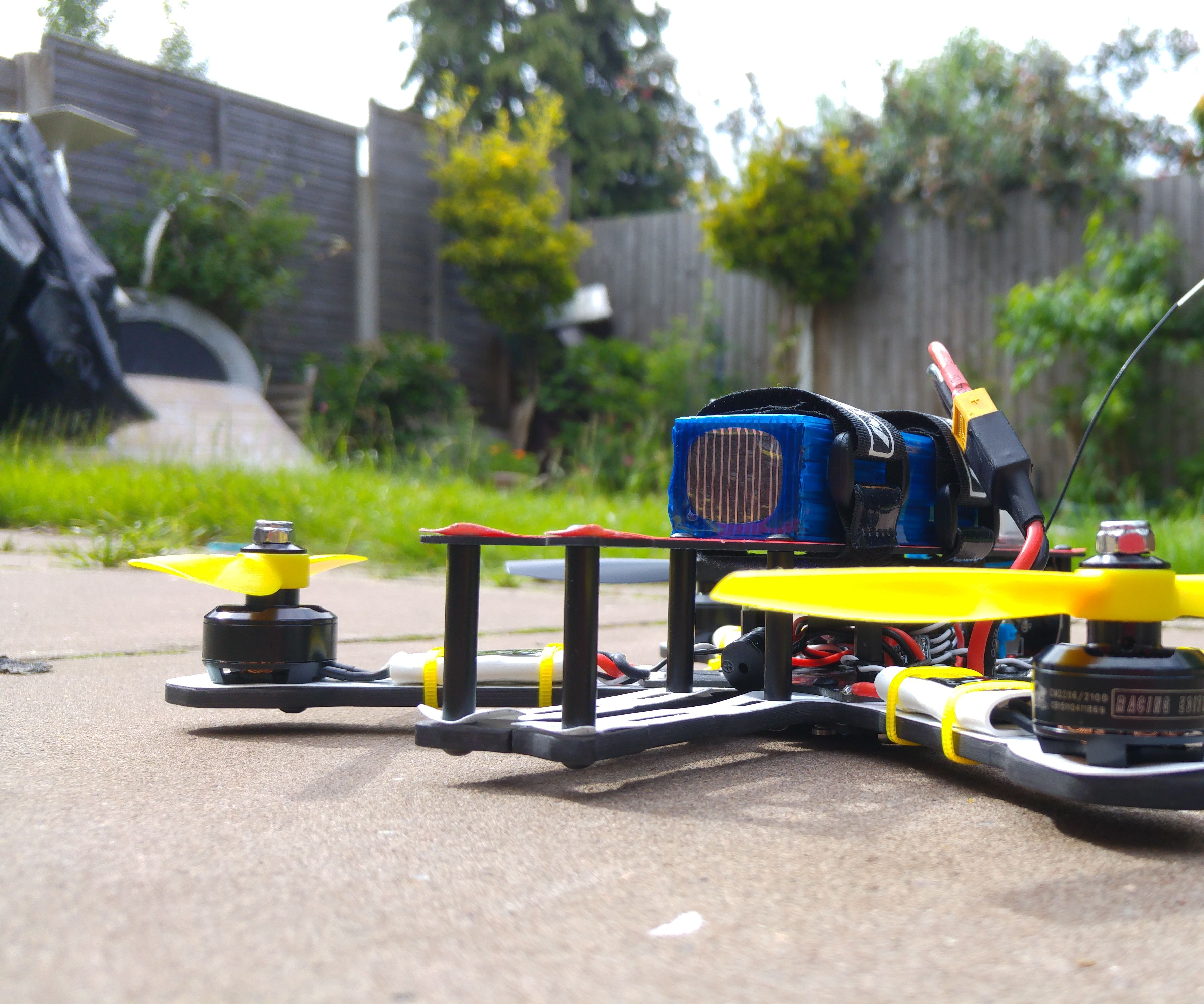 How to build the fastest quadcopter in 3 hours