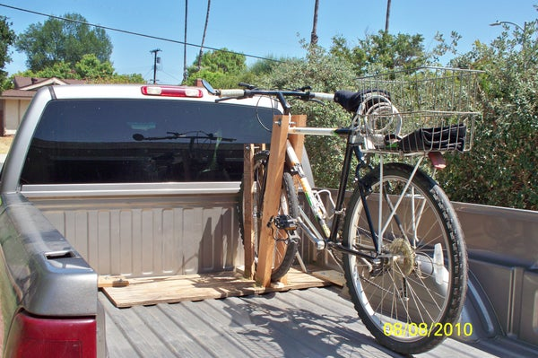 How to Make a Bicycle Rack, Frugally