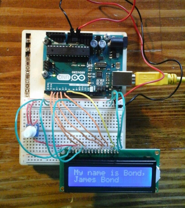 How to Use an LCD - Arduino