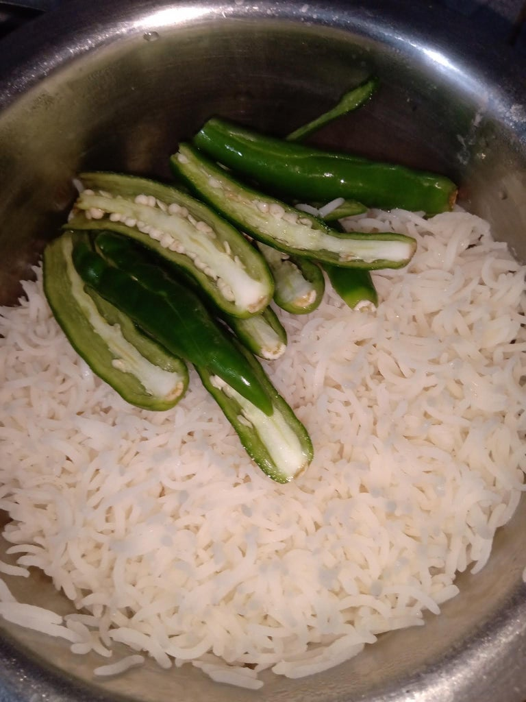 Part 2 : Making of Paneer (Cottage Cheese) Fried Rice