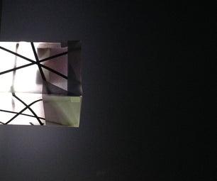 DIY Easy LED Paper Lamp