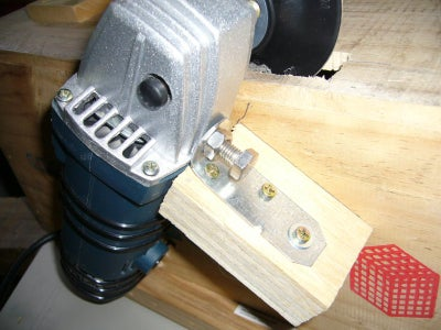 Mount the Grinder to the Box - Cut Slot