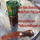 Mini Hobo Stove and Cup Free Recycled Survival