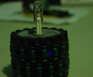 How to Make an LED Spinnie/ Rollie/ LED Cylinder!
