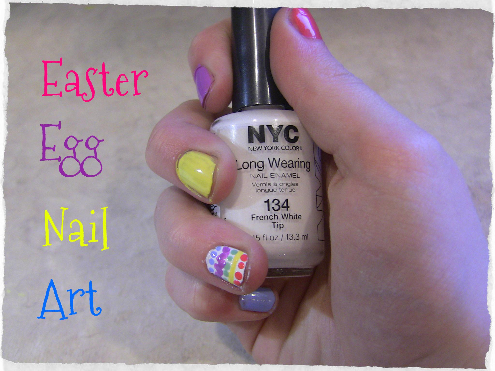 Easter Egg Nail Art