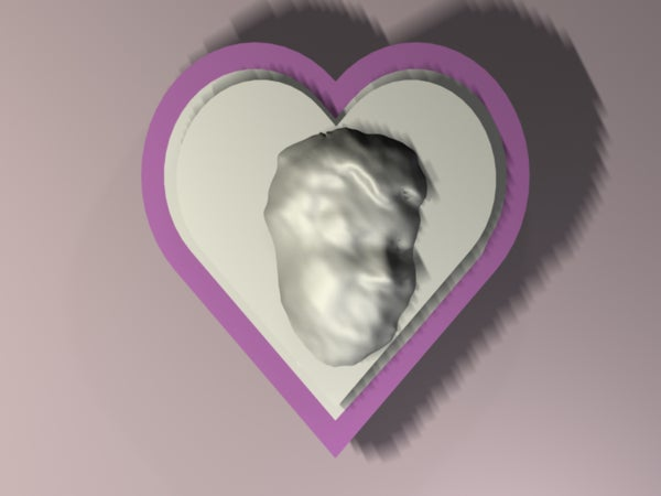 Locket of Love: From Kinect to 3D Printing