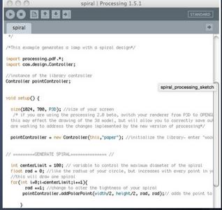 Processing: Code