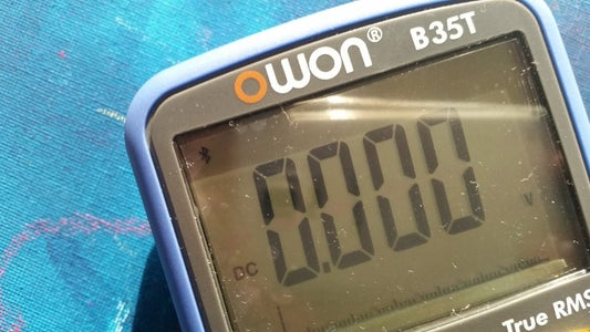 Connecting the Owon B35T Multimeter With the Data Glasses