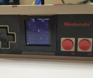 Arcade Machine in an NES Controller.