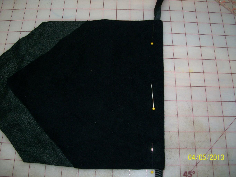 Fold Fabric, Insert Ribbon