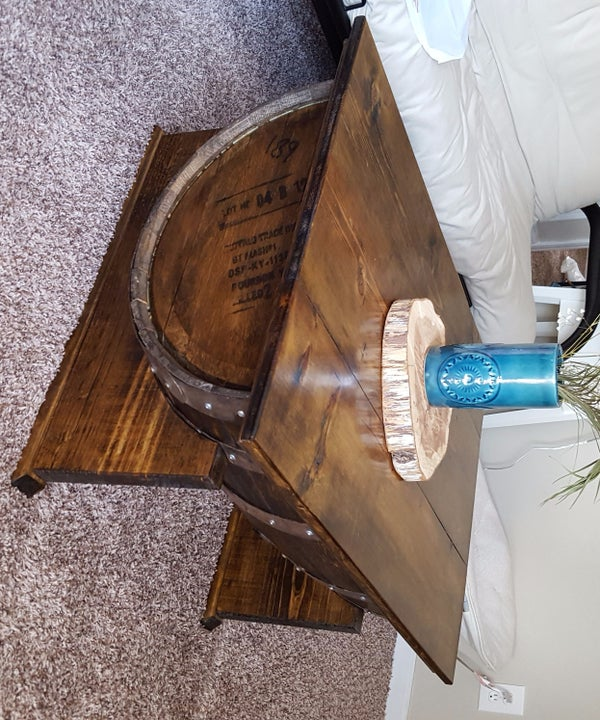 Bourbon Barrel Coffee Table