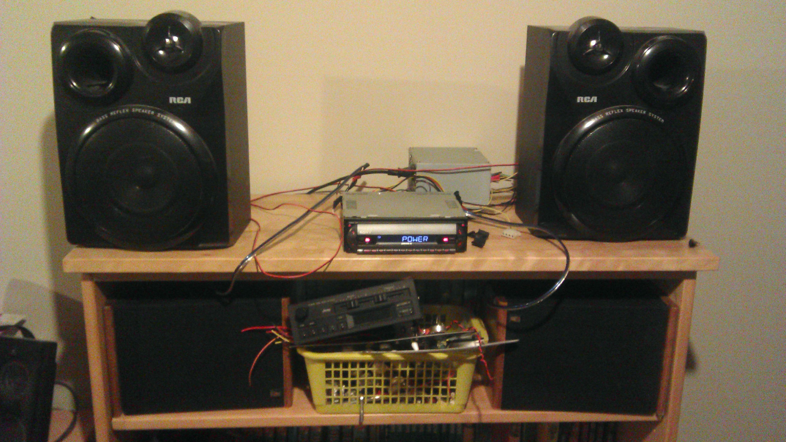 [SODI_2457]   Car Stereo to Home Stereo With a PSU : 7 Steps - Instructables | Car Antenna Wiring For Home Use |  | Instructables