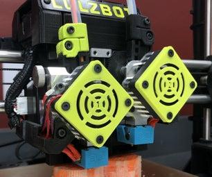 Improving Lulzbot FDM 3D Printers