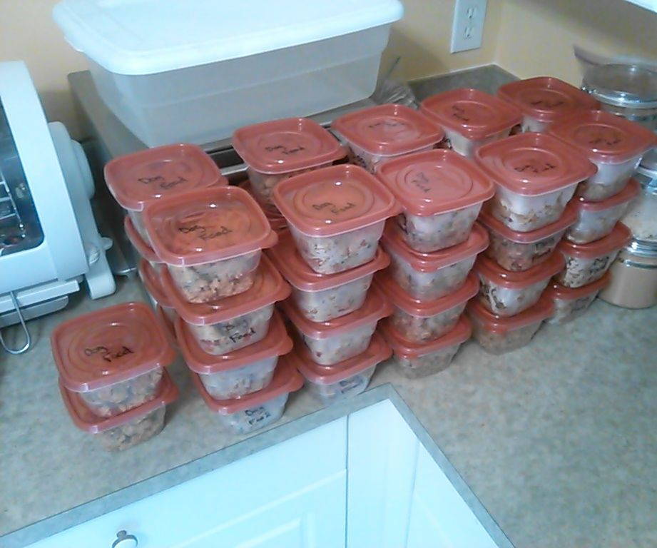 Beef and Chicken Brown Rice Canine Meals