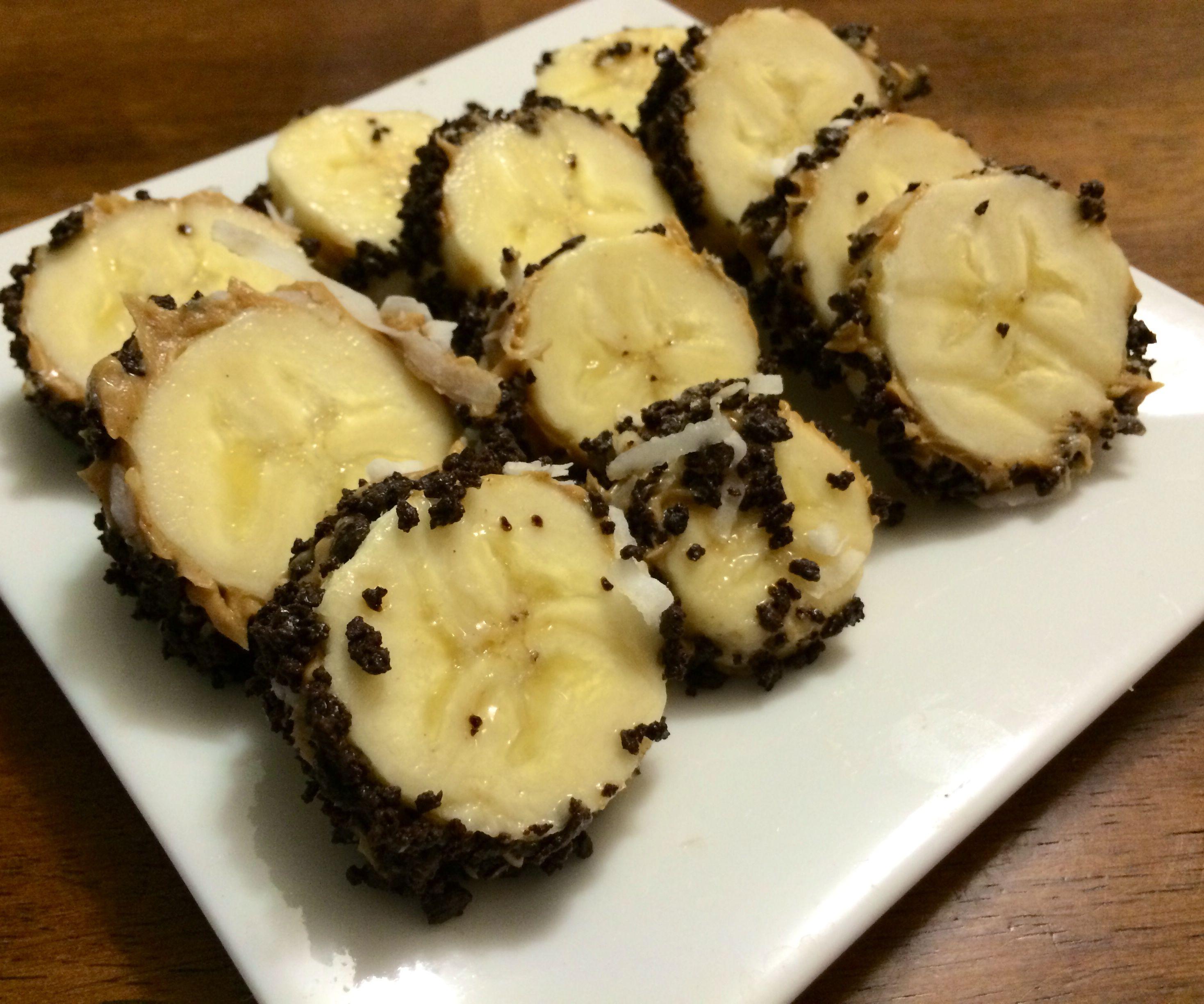 Dessert sushi or healthy banana snack? You decide.