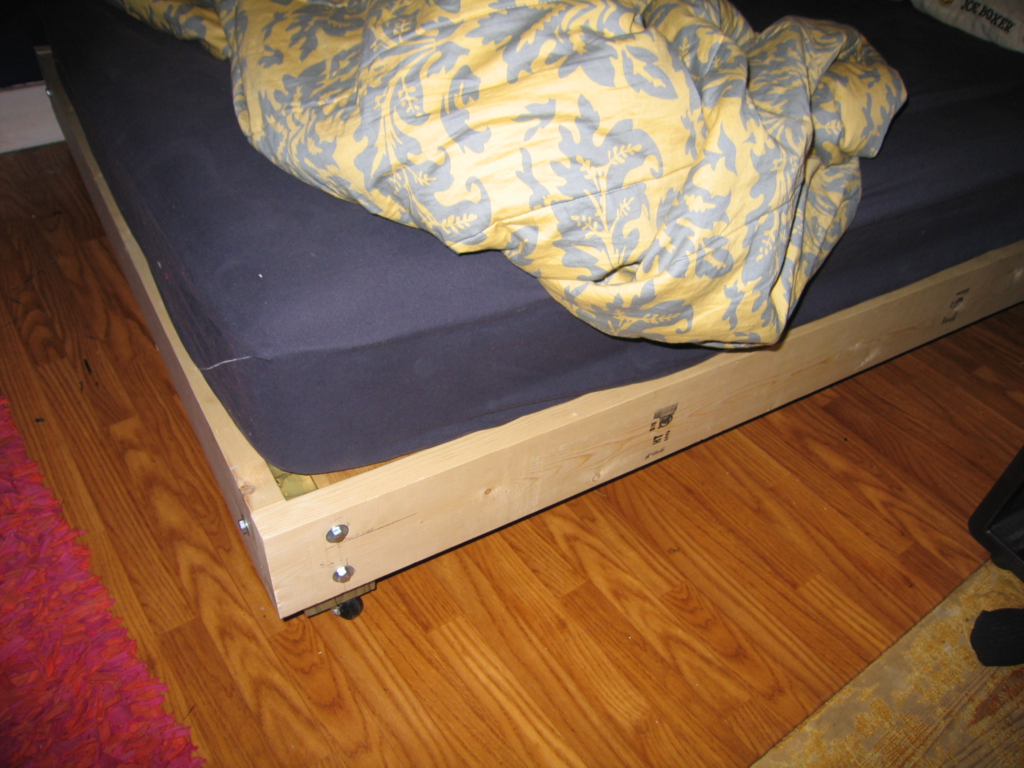 Picture of: Strong And Tough Platform Bed Diy 7 Steps With Pictures Instructables