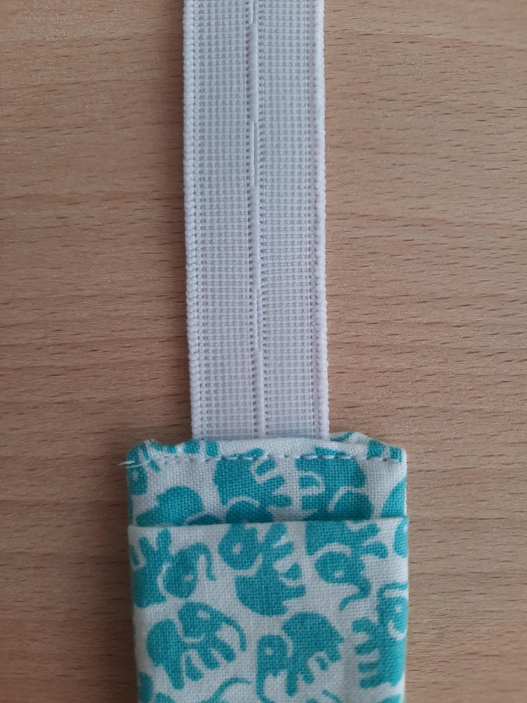Place the Other Piece of Elastic.