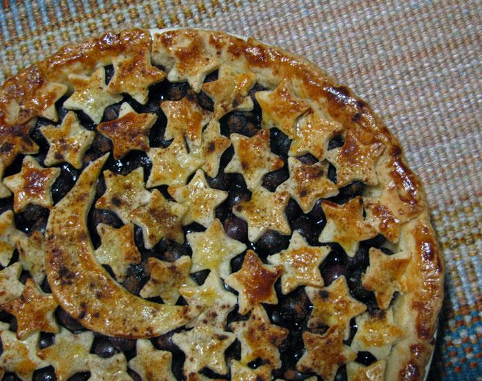 Night Sky Blueberry Pie
