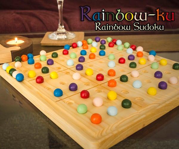 Rainbow Sudoku Set