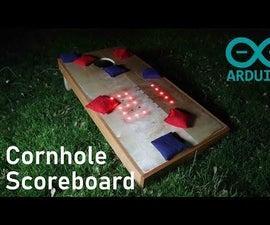 Cornhole LED Scoreboard Using an Arduino