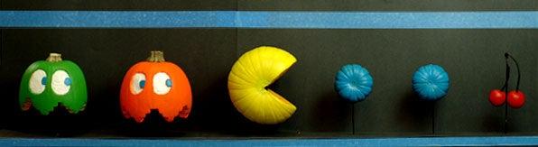 Pac Man Pumpkins