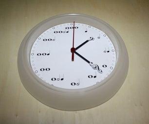 Note Symbol Clock