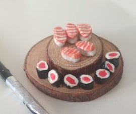 Sushi Miniature Diy