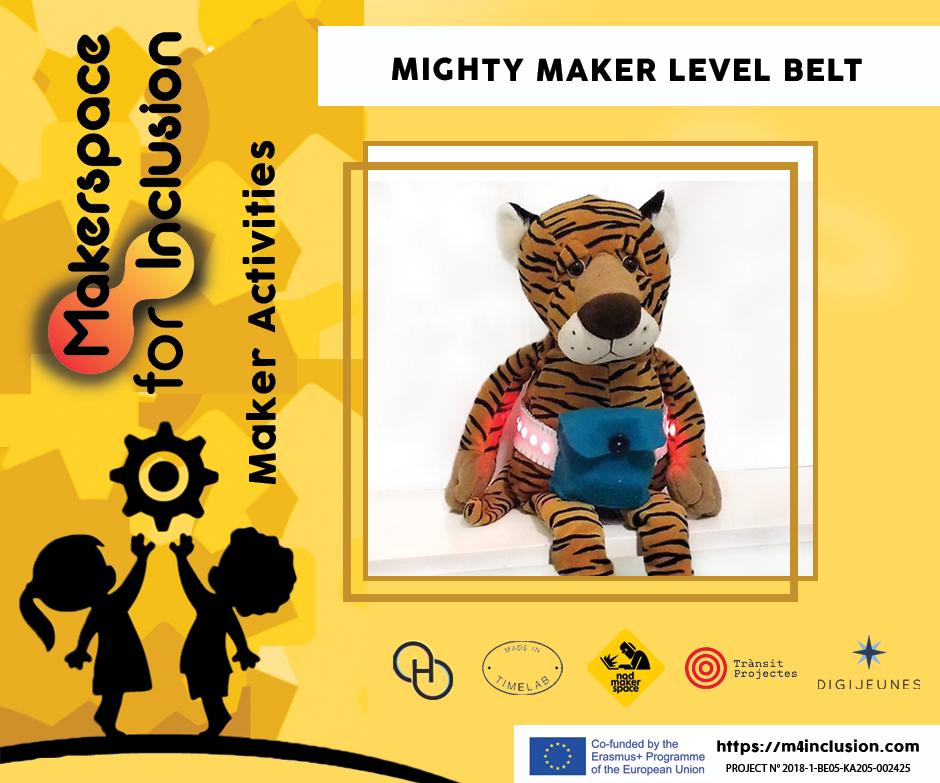 Mighty Maker Level Belt