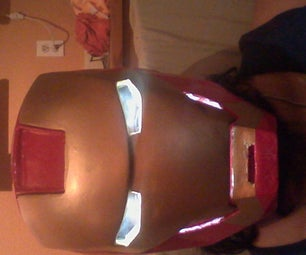 Iron Man Helmet...the Cheap-ish Way.