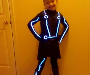 Child's Quorra (Tron) Costume