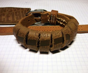 Turning Jeans Labels Into Bracelets and a Little More