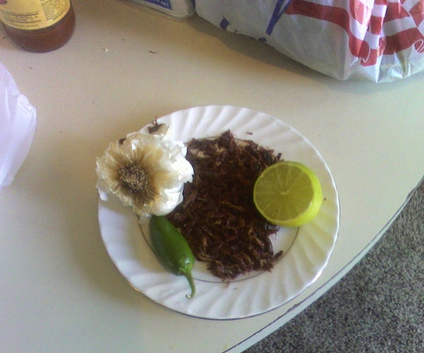How to Cook Grasshoppers the Mexican Way