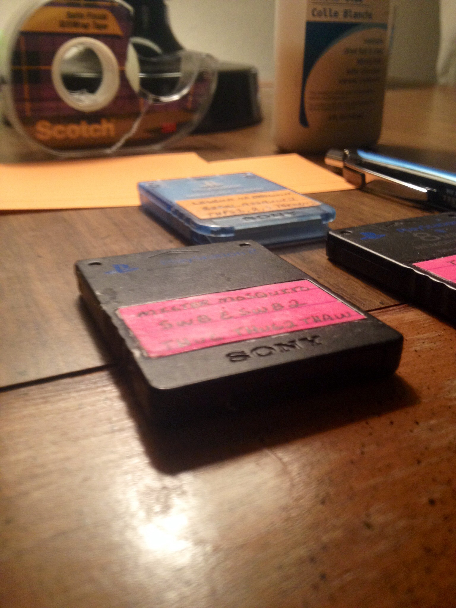 Super Easy and Really Practical Memory Card Labels