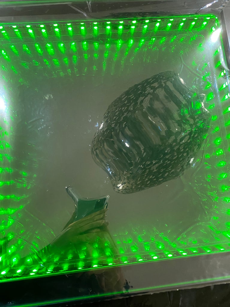 Sound Reactive Infinity Mirror