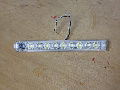 Attaching the LED's