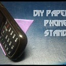 How to Make Origami Phone Stand