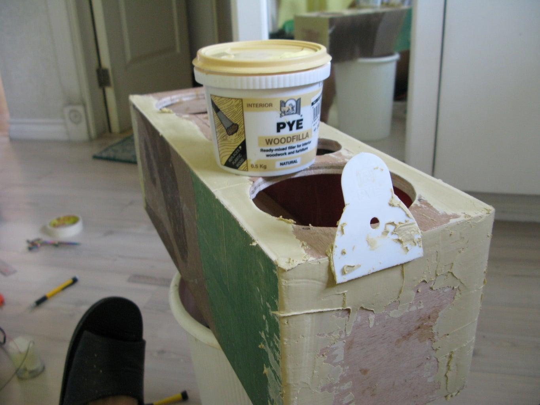 Applying Wood FIller