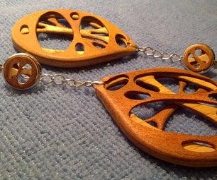 """3D Layered Veneer Earrings """"Venearrings"""""""