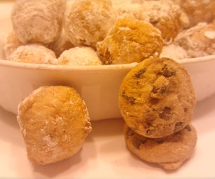 Fried Chocolate Chip Cookie Dough