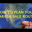 How to Plan Your Garage Sale Route Using Google Earth (for EBay Sellers)