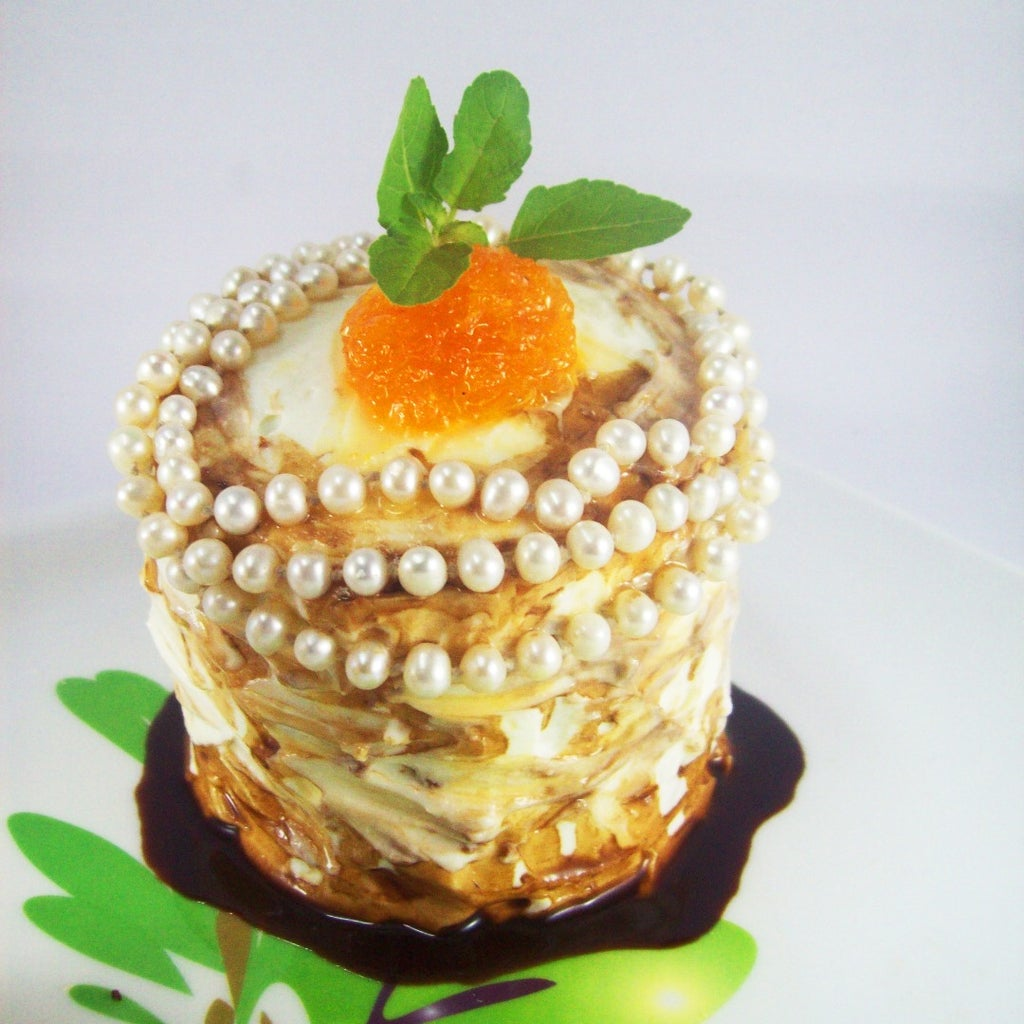 CHOCOrange  Lava Cake