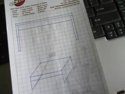 """Drawing the """"blueprints"""" and Getting Supplies"""