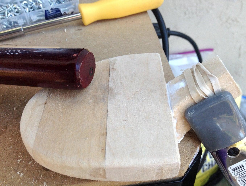 Attaching the Bottom Shank Piece