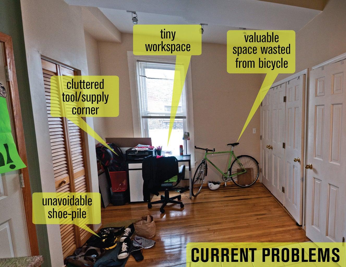 Workspace Renovation & Reorganization