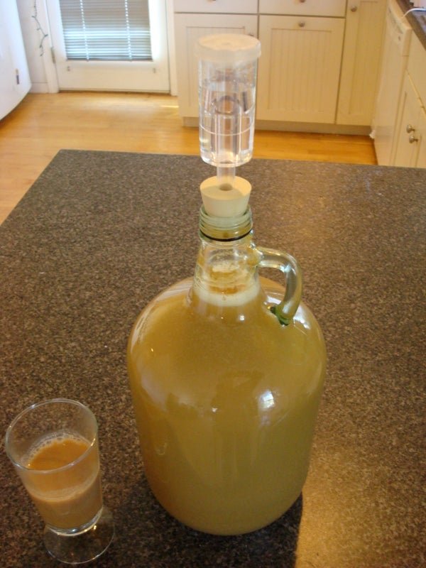 Home Brew Hard Cider From Scratch