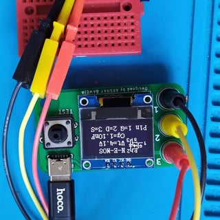 Component Tester in a Keychain
