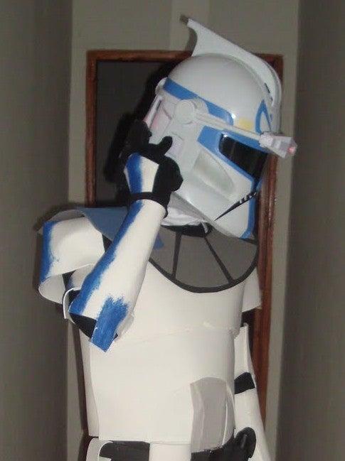 Captain Rex Phase 1 Wearable Armor for EVA Foam